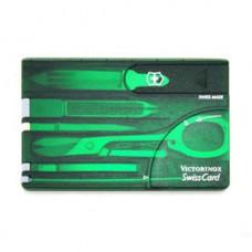 Victorinox  10用瑞士工具卡-透綠  0.7144.T4