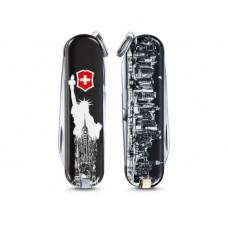 Victorinox 七用瑞士刀 2018年度設計小刀 贈瑞士維氏吊飾-New York(美國紐約) 0.6223.L1803