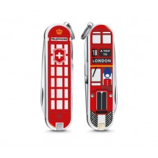 Victorinox 七用瑞士刀 2018年度設計小刀 贈瑞士維氏吊飾-A Trip to London(英國倫敦) 0.6223.L1808