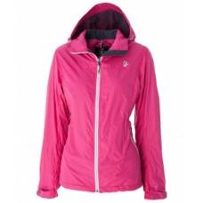 WILDLAND 荒野 女 輕量天鵝絨防風保暖外套-桃紅/紫 0A52905