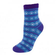 YAKTRAX 厚絨刷毛保暖襪 冰原藍 YA105-088