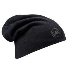 Buff 西班牙 100%美麗諾羊毛精靈帽(耐寒) 極限黑 BF111170-999