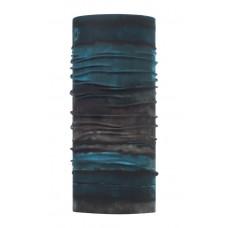 Buff 西班牙 Coolmax 95%防曬抗UV頭巾 祕境漂流 藍 BF117026-710