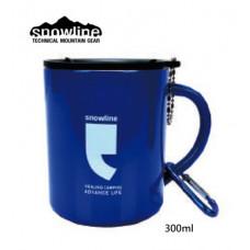 snowline SL炫彩304防漏鋼杯300ml-藍 SN55UCW008-BL