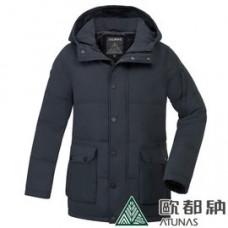 ATUNAS 歐都納 男 羽絨大衣-藏青 A-G1832M-DN