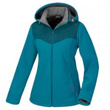 Atunas 歐都納 Windstopper 女防風保暖外套-藍/暗紅 A-G1560W