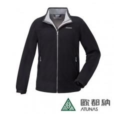 Atunas 歐都納 男 Windstopper防風保暖外套-黑 A3-G1711M [優惠體驗價]