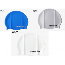 Arena  矽膠泳帽(立體小logo)-5色 ACG200