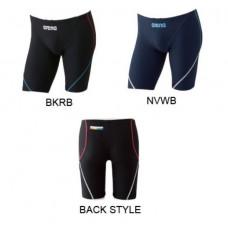 Arena 男馬褲(彩虹標)-黑/藍 F5601Z