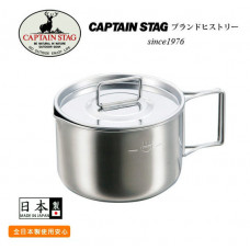 CAPTAIN STAG 燕三條不鏽鋼鍋570ml M-5512