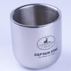 CAPTAIN STAG 鹿牌真空杯 280ml M-9682