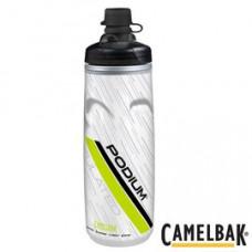 CAMELBAK 620ml Podium 保冷防塵噴射水瓶 萊姆白 CB1521301062