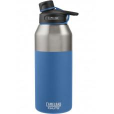 CAMELBAK Chute Mag 戶外運動保冰/溫水瓶1200ml-海洋藍 CB53869
