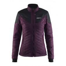 Craft 女 化纖聚溫保暖外套-紫黑/湖水藍 1903576