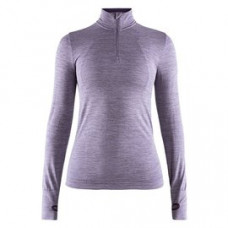 Craft 瑞典 全天候長袖拉鍊立領排汗衣(女)-紫 1906594-B332