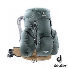 Deuter  德國 GRODEN網架直立式透氣背包32L 灰/咖啡DT-3430316-GY