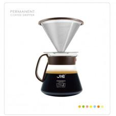 Driver JIE繽紛咖啡濾杯組- 咖啡色 JIE-212GP
