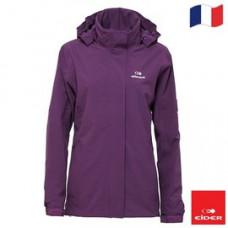 法國 Eider 女 多功能防水透氣外套-深紫/深藍 二色 EIT2804