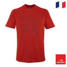 Eider 法國  男 專業排汗抗UV短袖圓領衫 紅 7EIV3539-8089