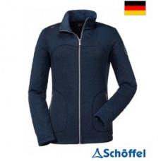 Schoffel 女 Ischgl 保暖刷毛外套-深藍 8SL10-12208-8