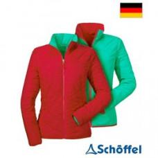Schoffel 女 Alyeskal Ventloft 防風保暖雙面穿外套(ZPN)-紅/綠 8SL20-12102-2