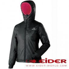 Eider 女 防風抗雪超軟連帽外套 黑 EIT2109-0247