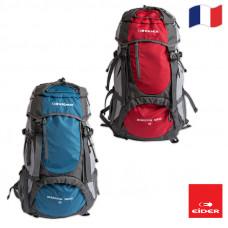 Eider 登山後背包42+3L 紅/藍 EIT5612