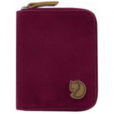 Fjallraven 小狐狸 Zip Wallet皮夾-紫紅 24216-420