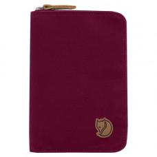 Fjallraven 小狐狸 Passport Wallet 小護照包 紫紅 24220-420