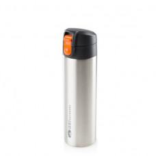 GSI 真空雙層不鏽鋼單手保溫瓶 500ml 67110銀