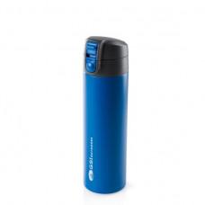 GSI 真空雙層不鏽鋼單手保溫瓶 500ml  67112藍