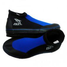 IST短筒菜瓜布防滑鞋-藍黑 B200B