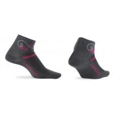 Icebreaker 頂級美麗諾羊毛 涼爽羊毛 IB101482 女短筒多功能運動襪(Ultralight)