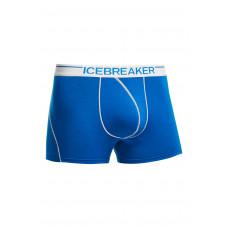 Icebreaker 頂極美麗諾羊毛 涼爽羊毛 男彈性四角內褲(BF150)-蔚藍 IB100471-403