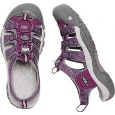 Keen NewPort H2 女經典寬帶涼鞋-深紫/紫 1016289