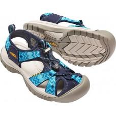 Keen Venice H2 女叉帶涼鞋-深藍/土耳其藍 1016444