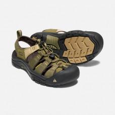 Keen NewPort H2 男寬帶涼鞋-橄欖綠/沙石 1018941