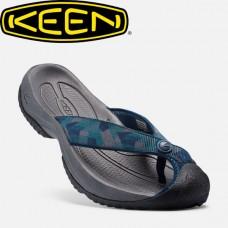 Keen Waimea H2 橡膠夾腳拖-深藍/印花 1016565