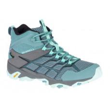 Merrell Moab FST2 女 GT中筒健行鞋-淺藍/灰 ML49182