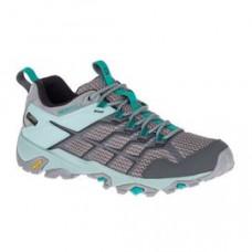 Merrell Moab FST2 女 GT低筒健行鞋-灰/淺藍 ML77428