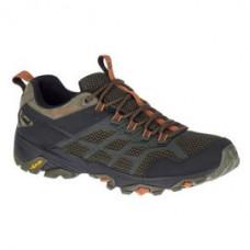 Merrell Moab FST2 男 GT低筒健行鞋-橄欖綠/橘 ML77447