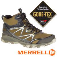 Merrell CAPRA BOLT 男GT中筒健行鞋-深橄欖綠 ML37411