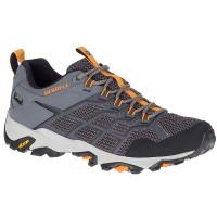 Merrell Moab FST2 男 GT低筒健行鞋-深灰/橘黃 ML84945