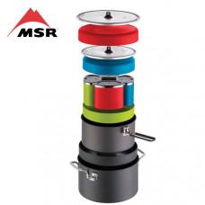 MSR Flex 4人硬鋁不沾炊具組 MSR-05996