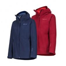 Marmot W-Minimalist 女防水保暖GT外套 北極軍藍/赭紅 35810
