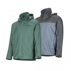 Marmot PreCip 防水透氣外套 灰/深湖綠 41200