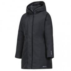 Marmot W-Kristina 立體帽型防水透氣羽絨大衣 黑 78480-0001