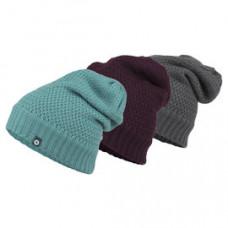 Marmot W-Stephanie 保暖毛帽 灰/湖水綠/紫 14640
