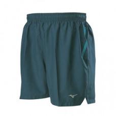 MIZUNO 美津濃 路跑褲(L股下13cm) 藍綠 J2TB805132