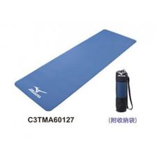 MIZUNO 美津濃 瑜珈墊 藍 C3TMA60127